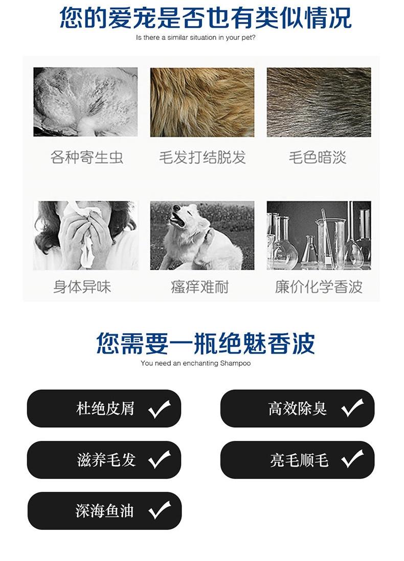 绝魅 全猫专用香波 3.78L 猫沐浴露