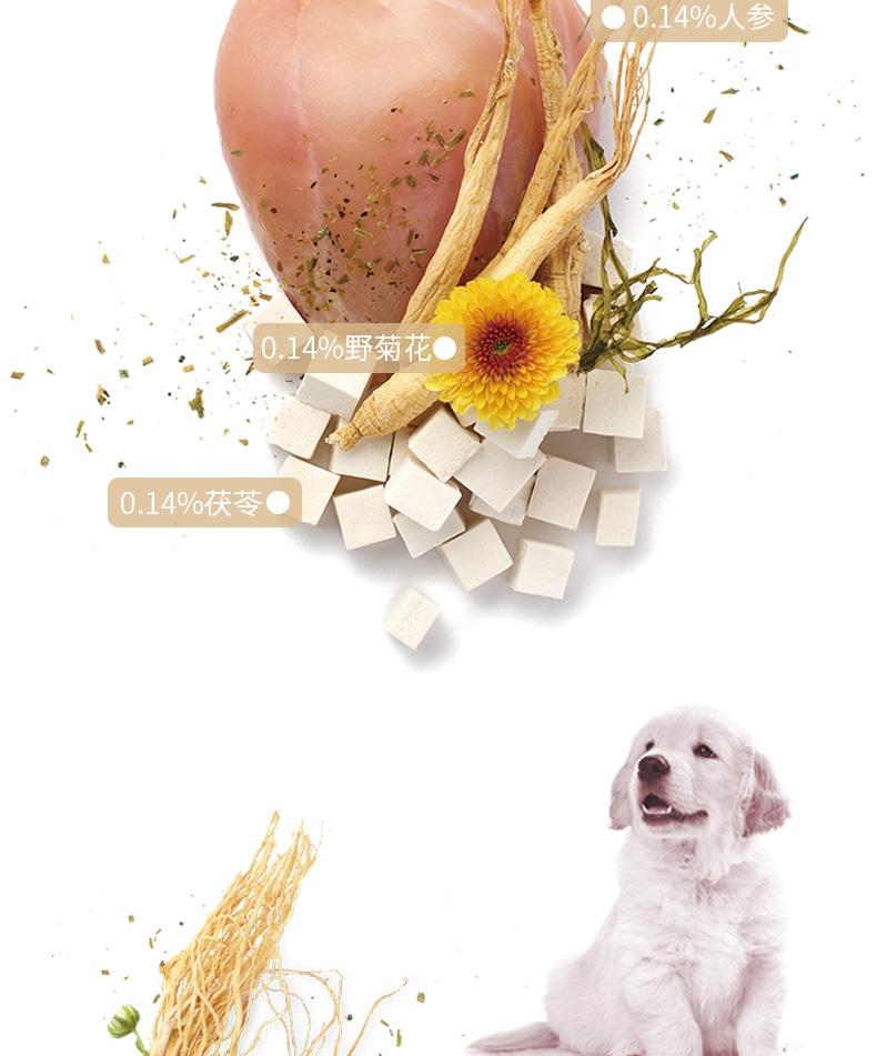 灵萃 全犬种全价成犬狗粮 添加人参 12kg