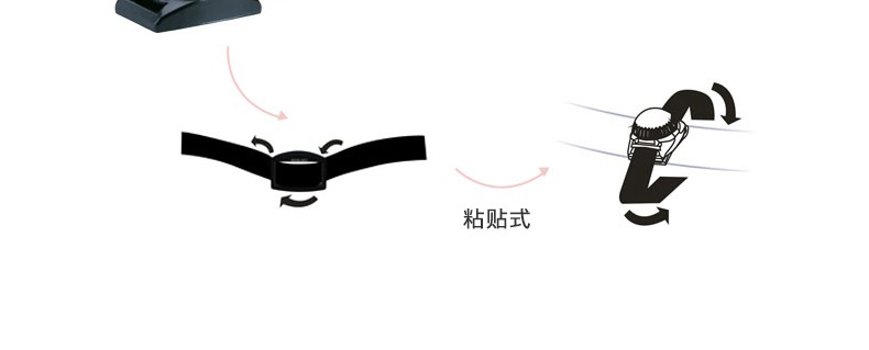kirsting 宠物安全灯胸背带配件(胸背专配)遛狗灯