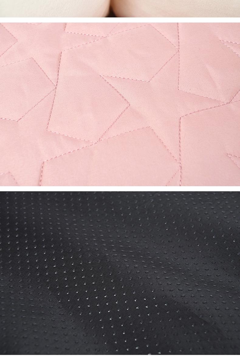 伊丽 素色五角星印花系列咖啡色圆窝 宠物窝 狗窝猫窝