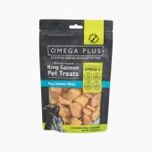 奧鮭冠Omega Plus 原魚凍干三文魚帝王鮭魚塊100g 貓狗零食 新西蘭進口