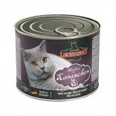 德国Leonardo 小李子兔肉配方无谷主食猫罐头 200g 富含卵磷脂
