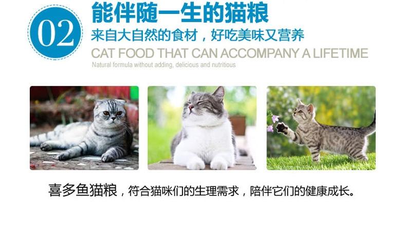 珍宝 喜多鱼成猫粮海洋鱼味猫粮10kg 超高性价比