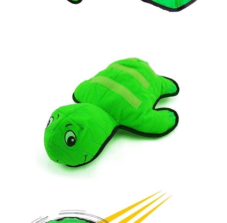 酷极Kyjen 飞盘神龟发声毛绒大红鹰dhy娱乐玩具