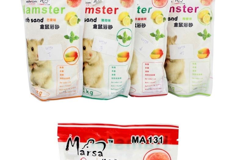 MA131玛莎仓鼠浴砂1kg