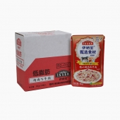 伊纳宝 犬用低脂肪鸡肉与牛肉湿粮80g*12包 狗湿粮