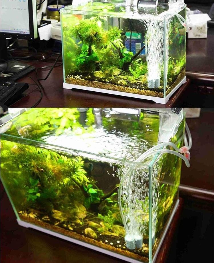 森森  静音单双孔增氧泵增氧机加氧泵鱼缸水族箱养鱼冲氧机氧气泵