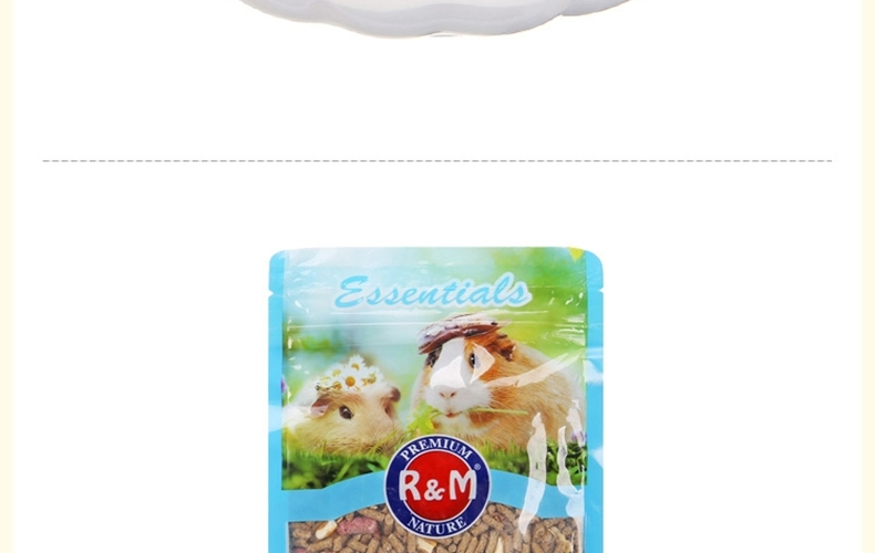哈姆大红鹰国际娱乐经典营养豚鼠天竺鼠荷兰猪粮 饲料主食经典豚鼠粮454g