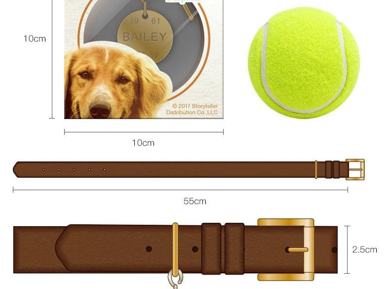 怡亲 《一条狗的使命》贝利同款项圈吊牌