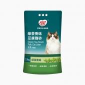 怡亲Yoken 绿茶豆腐猫砂 2.5kg 无粉尘 结团紧实