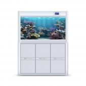 聚宝源 大型成品鱼缸KR-1000S白色