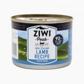 滋益巅峰Ziwi peak 无谷羊肉主食猫罐头185g 92%肉含量 新西兰进口