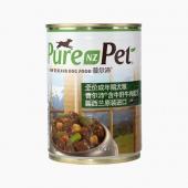 普尔沛 牛肝牛肉狗罐头成犬主食罐 375g 新西兰原装进口