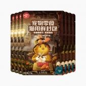 顽皮 Happy100星厨联盟系列猫用鲜封包吞拿鱼配方添加鸡肉 70g*7袋