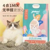 怡亲 MIX安心猫砂 2.5kg 结团快 除臭好